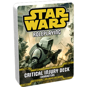 Star Wars - Age of Rebellion: Critical Injury Character Deck