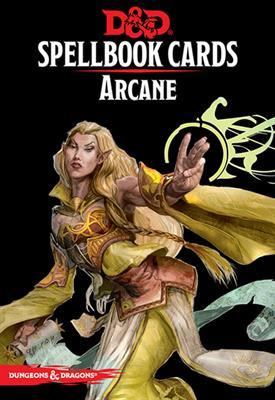 Dungeons & Dragons (5th Edition): Spellbook Cards - Arcane (revised)