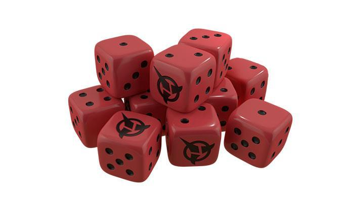 Star Trek Ascendancy Expansion: Dice - Klingons