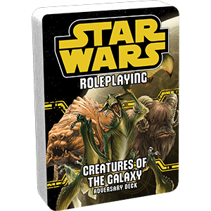 Star Wars: Age of Rebellion - Creatures of the Galaxy Adversary Deck