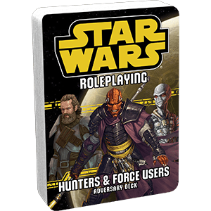 Star Wars: Age of Rebellion - Hunters & Force Users Adversary Deck