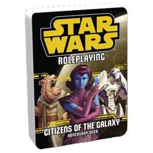 Star Wars RPG: Citizens of the Galaxy Adversary Deck