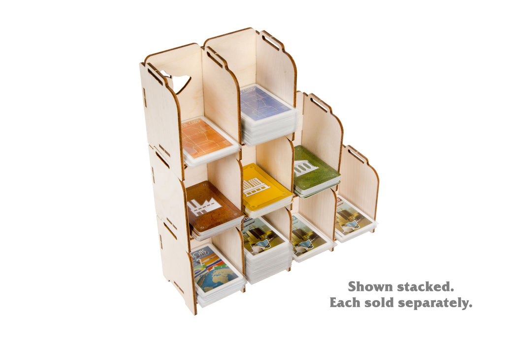 Stacking Tabletop Card Holder - Mini 4 Tray (Broken Token)(TCH012)