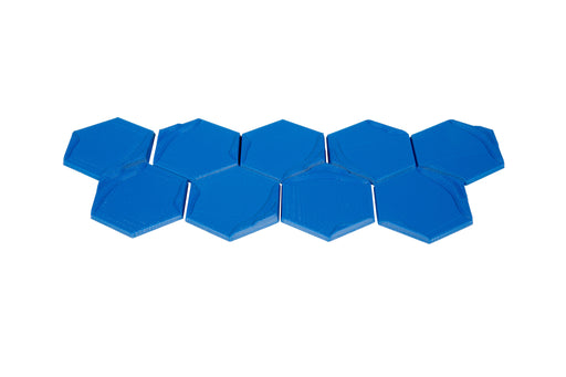 3D Ocean Hex Tiles (9) (Broken Token)