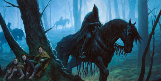 The Lord of the Rings: The Card Game - The Black Riders Playmat