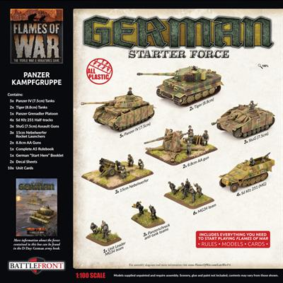 Flames of War: German Panzer Kampgruppe Army Deal (GEAB18)
