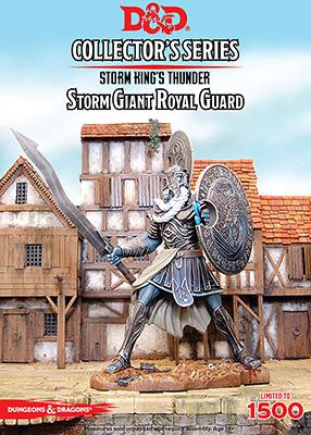 Dungeons & Dragons Collector's Series: Storm King's Thunder – Storm Giant Royal Guard