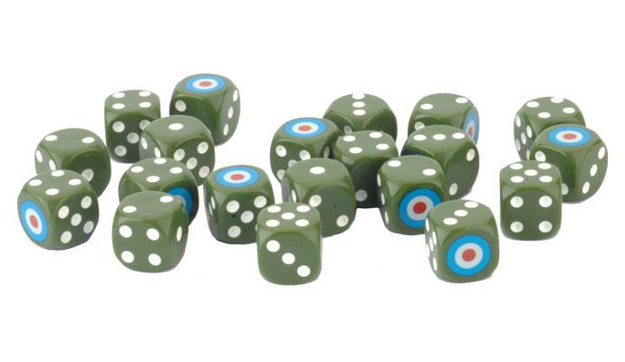 Flames of War: British LW Dice (x20) (BR904)