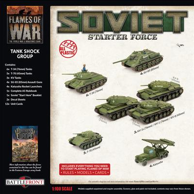 Flames of War: Soviet Tank Shock Group Army Deal (SUAB11)