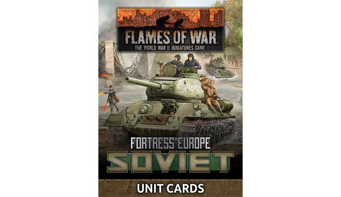 Fortress Europe: Soviet Unit Cards (LW x53 cards) (FW261S)