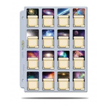 Ultra Pro - Platinum 16-Pocket Pages Display (100 Pages)