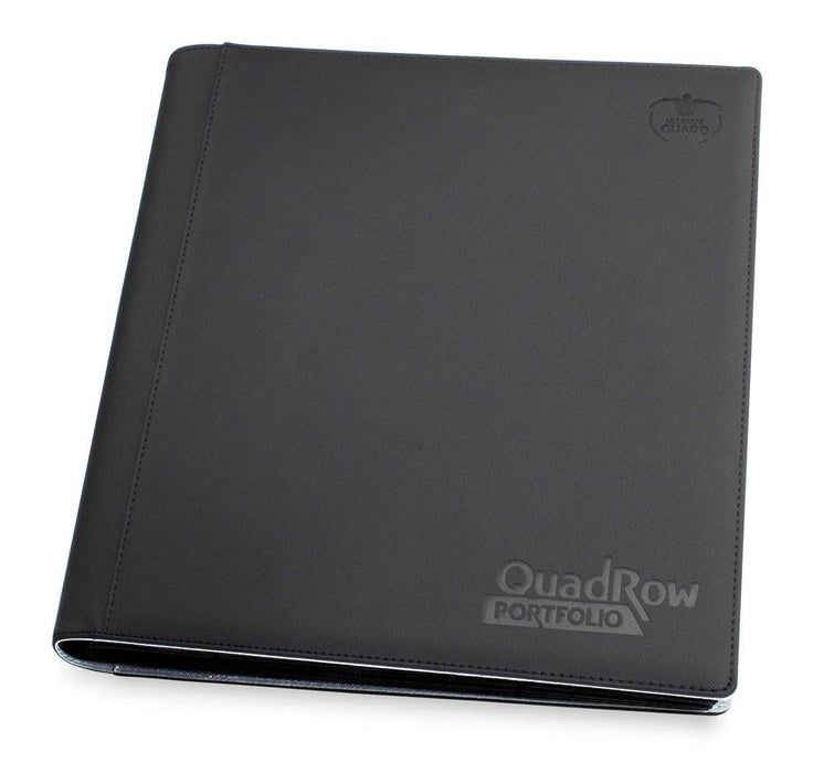 Ultimate Guard 12-Pocket QuadRow Portfolio XenoSkin - Black