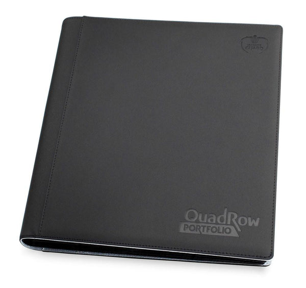 Ultimate Guard 12-Pocket QuadRow Portfolio XenoSkin Black