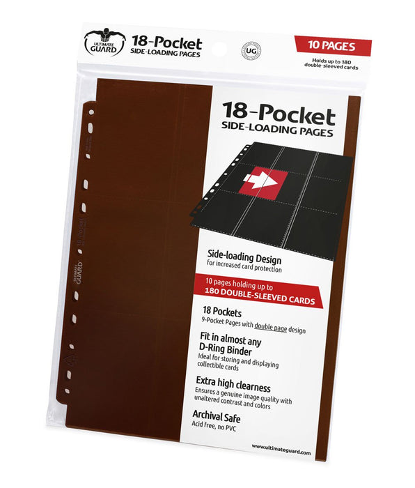 Ultimate Guard 18-Pocket Pages Side-Loading