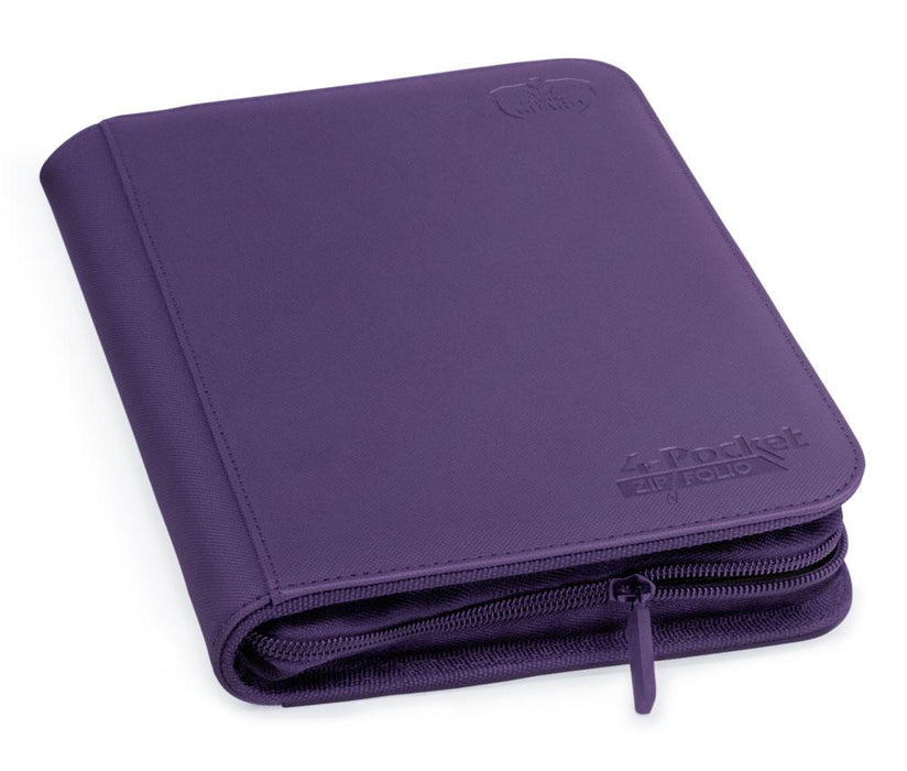 Ultimate Guard 4-Pocket ZipFolio XenoSkin - Purple