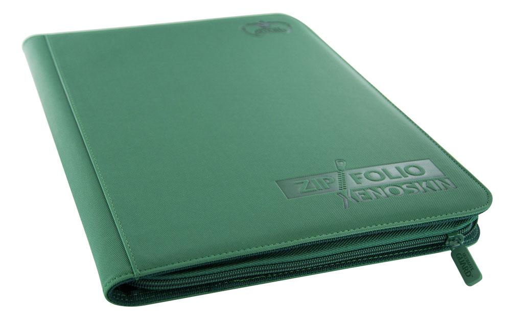 Ultimate Guard 9-Pocket ZipFolio XenoSkin - Green