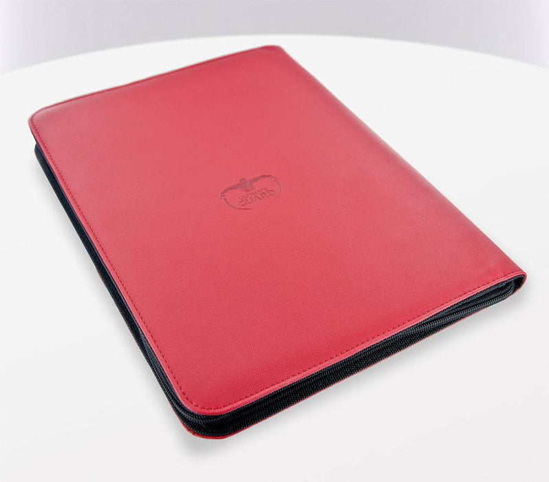 Ultimate Guard 9-Pocket ZipFolio XenoSkin - Red