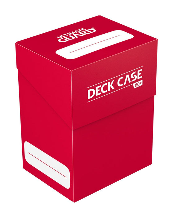 Ultimate Guard Deck Case 80+ Standard Size - Red