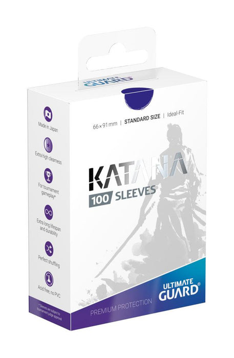 Ultimate Guard Katana Sleeves - Standard Size Blue (100)