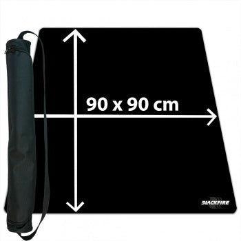 Ultrafine Playmat with carrybag - Black 90x90 (Blackfire)