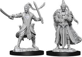 Dungeons & Dragons - Nolzur's Marvelous Miniatures: Male Elf Paladin