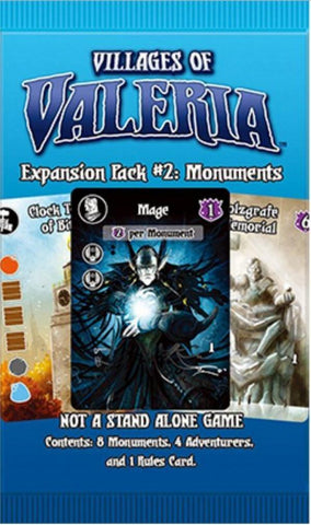 Villages of Valeria: Monuments (Pack #2)