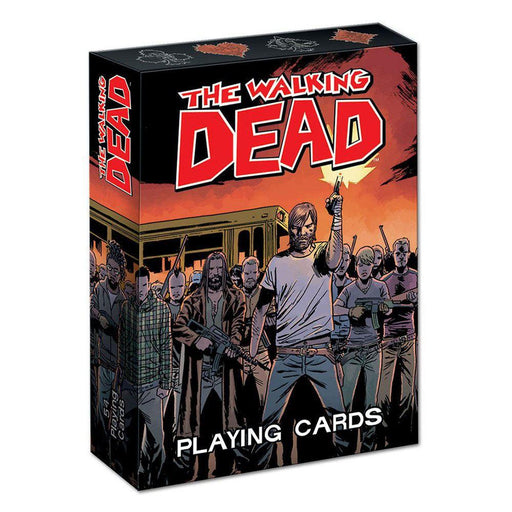 Walking Dead Playing Cards Comic Version