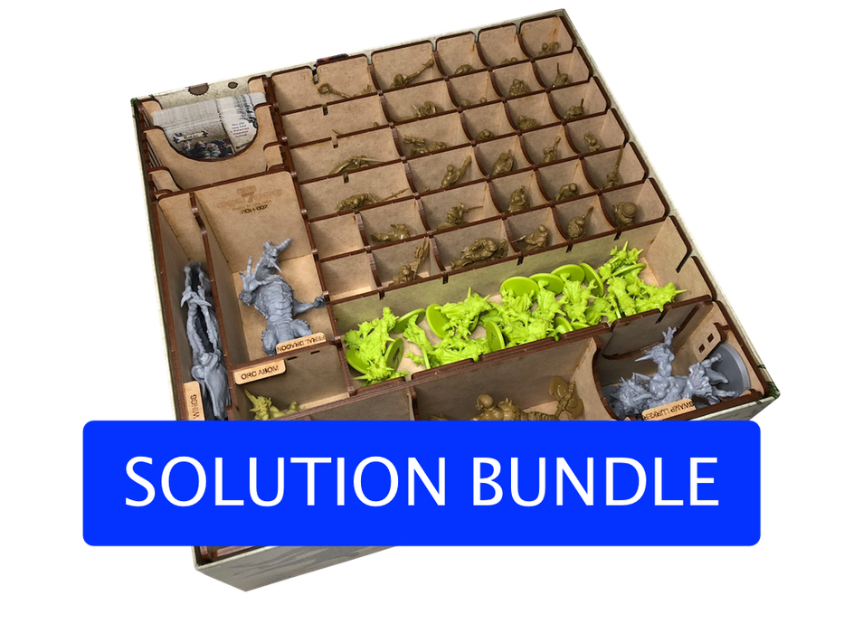 Spilordner til Zombicide: Green Horde (KS) Bundle Pack - Go7Gaming