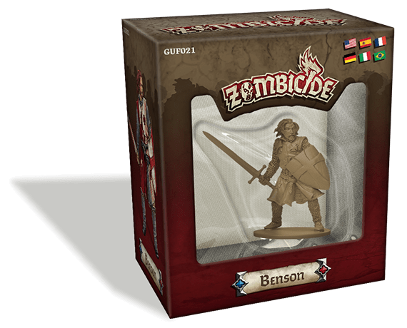 Zombicide: Black Plague – Benson