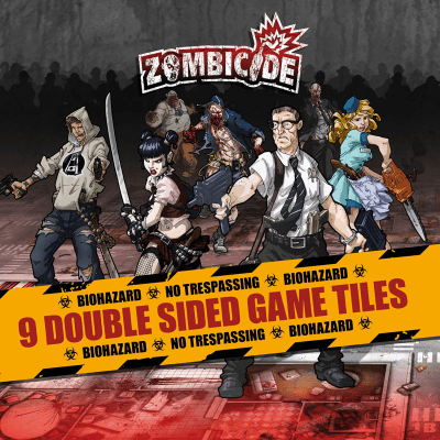 Zombicide: Season 1 Games Tiles
