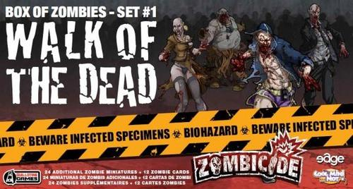 Zombicide: Walk of the Dead (Set #1)