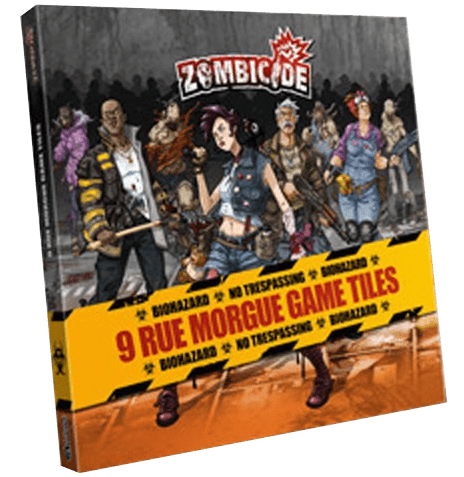 Zombicide Season 3: Rue Morgue Tile Pack