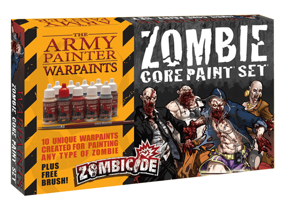 Zombicide: Zombie Core Paint Set