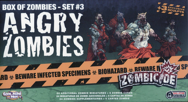 Zombicide: Angry Zombies (Set #3)