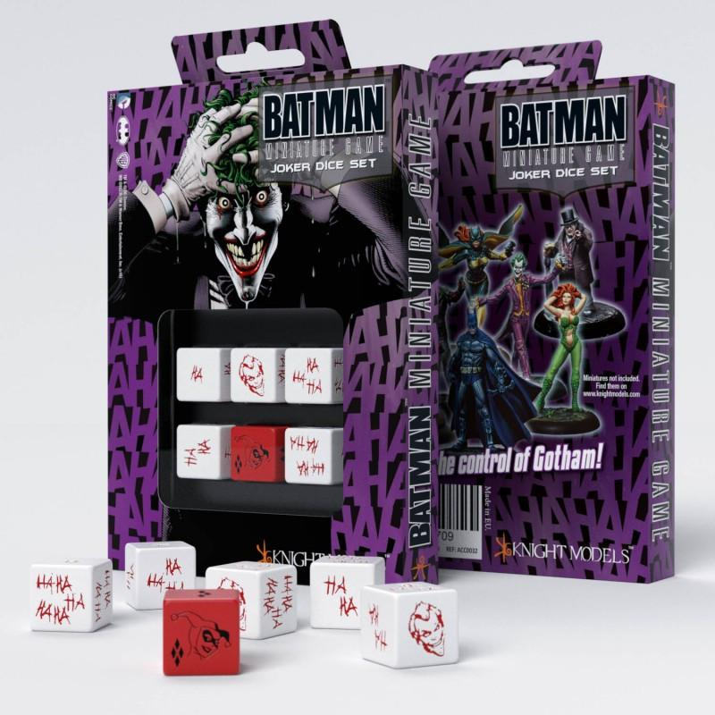 Batman Miniature Game - D6 Joker Dice Set (6) - Q-Workshop
