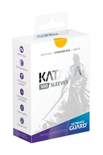 Ultimate Guard Katana Sleeves Standard Size Yellow (100)
