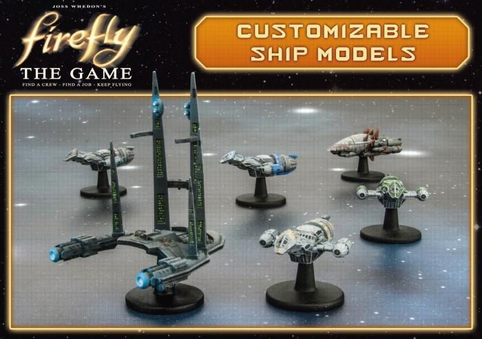 Firefly The Game: Customizable Ship Models