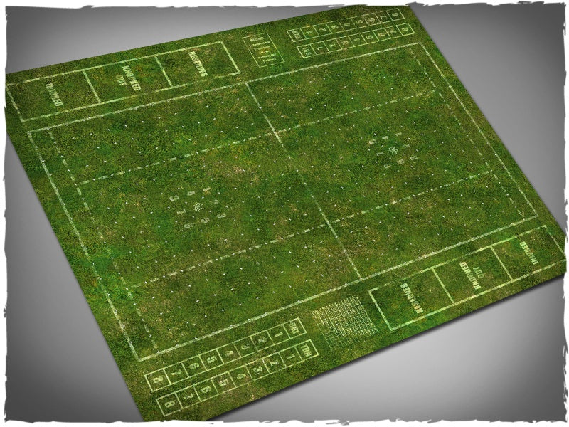 Gaming Mat - Blood Bowl Pitch, Grass (80x93 cm) (Deep Cut Studio)