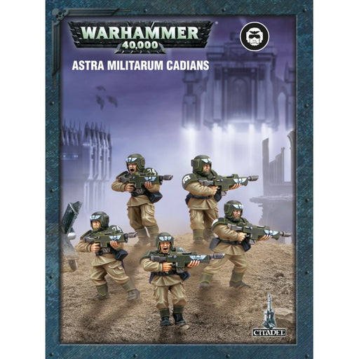 Warhammer 40,000: Easy To Build Astra Militarum Cadians
