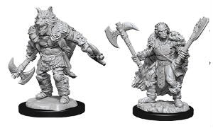 Dungeons & Dragons - Nolzur's Marvelous Miniatures: Male Half-Orc Barbarian