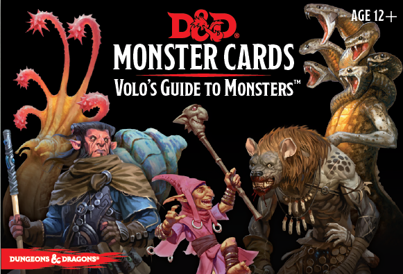 Dungeons & Dragons (5th Edition): Volo's Guide to Monsters Cards