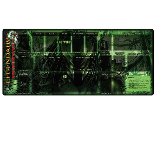 Legendary Encounters: A Predator Playmat