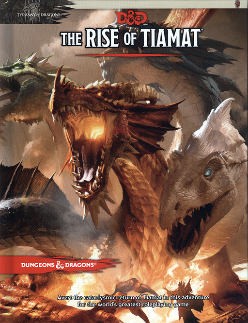 Dungeons & Dragons (5th Edition) - The Rise of Tiamat