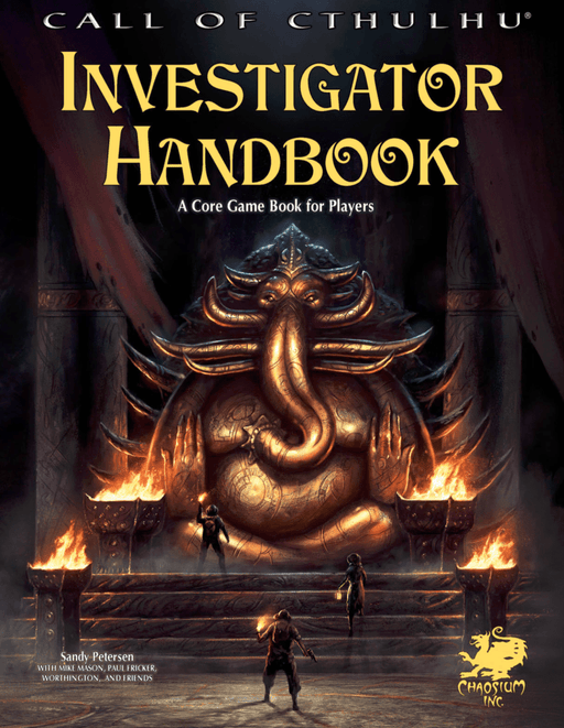 Call of Cthulhu: Investigator Handbook (7th edition)