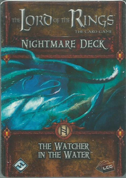 The Lord of the Rings: The Card Game – Nightmare Deck: The Watcher in the Water
