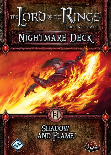 The Lord of the Rings: The Card Game – Nightmare Deck: Shadow and Flame
