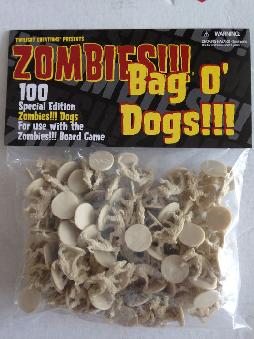 Zombies!!!: bag o' Dogs!!!