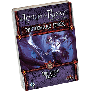 The Lord of the Rings: The Card Game – Nightmare Deck: The Three Trials
