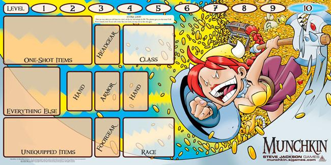 Munchkin Playmat: Flower Cashes In