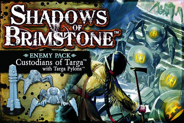 Shadows of Brimstone: Custodians of Targa with Targa Pylons Enemy Pack